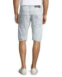 G-Star RAW - Blue Arc 3d 1/2-length Denim Shorts for Men - Lyst