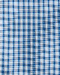 Kiton - Blue Box-check Woven Dress Shirt for Men - Lyst