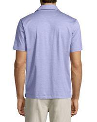 Ermenegildo Zegna - Multicolor 1x1 Knit Polo Shirt for Men - Lyst