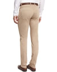 Peter Millar - Natural Collection Perfect Poplin 5-pocket Pants for Men - Lyst