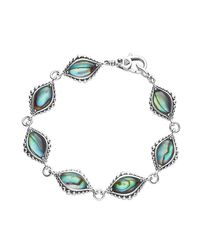 Lagos - Blue Medium Contessa Station Link Bracelet - Lyst