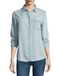 DL1961 Blue Mercer and Spring Chambray Shirt