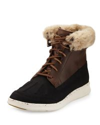 Ugg - Brown Men's Roskoe Duck Boot for Men - Lyst