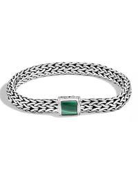 John Hardy - Metallic Medium Batu Classic Chain Bracelet With Clasp Station - Lyst