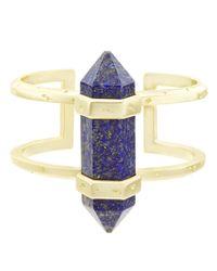 Kendra Scott | Multicolor Shelli Lapis Statement Cuff Bracelet | Lyst