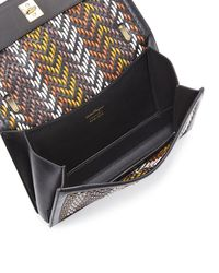 Ferragamo | Multicolor Ginny Medium Woven Shoulder Bag | Lyst