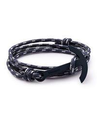 Miansai | Blue Modern Anchor Rope Bracelet | Lyst