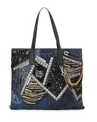 Marc Jacobs | Multicolor Wingman Snake-embossed Tote Bag | Lyst