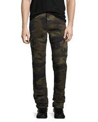 True Religion | Multicolor Rocco Camo-print Cargo Pants for Men | Lyst
