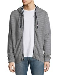 Sol Angeles | Gray Double-face Zip-front Hoodie for Men | Lyst