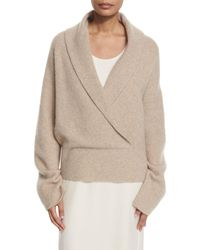 The Row | Multicolor Fontaine Crossover Sweater | Lyst