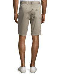 Vince | Blue Cotton Sateen Urban Short for Men | Lyst