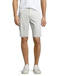 Vince | Gray Cotton Sateen Urban Short for Men | Lyst