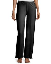 Skin | Black Double-layer Cotton Lounge Pants | Lyst