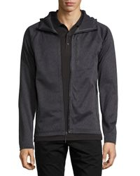 The North Face | Gray Canyonlands Zip-front Hoodie for Men | Lyst