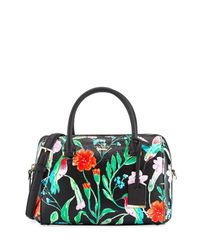 kate spade new york | Black Cameron Street Jardin Large Lane Dome Bag | Lyst