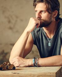 John Hardy - Blue Woven Station And Turquoise Stone Bracelet for Men - Lyst