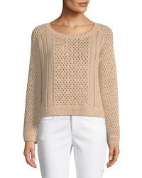 Jonathan Simkhai - Multicolor Pearl Crochet Sweater - Lyst
