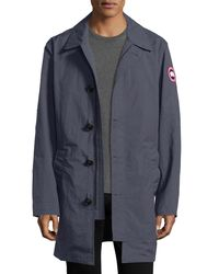 Canada Goose - Brown Wainwright Button-front Coat for Men - Lyst