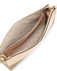 Tory Burch - Metallic Perry Colorblock Wallet Crossbody Bag - Lyst
