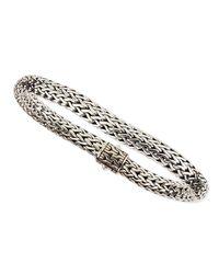John Hardy | Metallic Medium Oval Bracelet | Lyst
