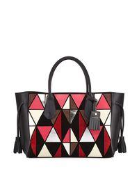 Longchamp | Red Penelope Arty Medium Tote Bag | Lyst