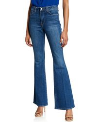 L'Agence Blue Bell High-rise Flare Jeans