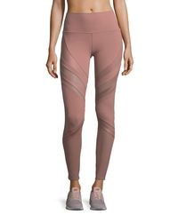 Alo Yoga - Pink Epic High-waist Performance Leggings - Lyst