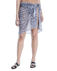 Jets by Jessika Allen - Blue Gypsy Printed Sarong Coverup - Lyst