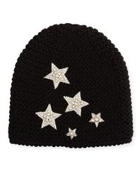 Jennifer Behr - Gray Galaxy Beanie Hat - Lyst