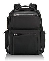 Tumi - Arrive Black Bradley Backpack for Men - Lyst