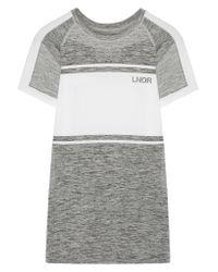 LNDR - Gray Varsity Stretch-knit T-shirt - Lyst
