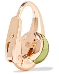 Pomellato - Metallic M'ama Non M'ama 18-karat Rose Gold Peridot Earrings - Lyst