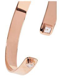 Jemma Wynne - Metallic 18-karat Rose Gold Diamond Cuff - Lyst