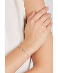 Stephen Webster   Multicolor Thorn 18-karat White Gold Diamond Bracelet   Lyst