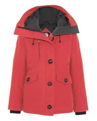 Canada Goose   Red Rideau Shell Down Parka   Lyst