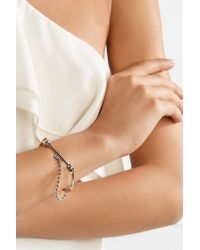 Eddie Borgo - Metallic Silver And Gold-tone Bracelet - Lyst