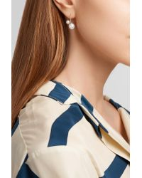 Sophie Bille Brahe - Metallic Petite Elipse Nouveau 14-karat Gold Pearl Earring - Lyst