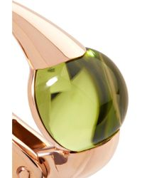 Pomellato - Metallic M'ama Non M'ama 18-karat Rose Gold Peridot Earrings - Lyst