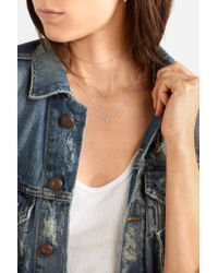 Catbird - Multicolor Chained To My Heart White Gold Diamond Necklace - Lyst