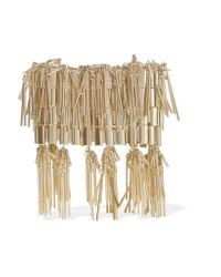 Rosantica - Metallic Cleopatra Fringed Gold-tone Bracelet - Lyst
