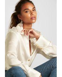Kimberly Mcdonald - Multicolor 18-karat Blackened White Gold, Geode And Diamond Earrings - Lyst