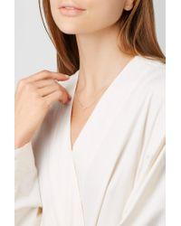 Diane Kordas - Metallic Star 18-karat Rose Gold Diamond Necklace - Lyst