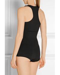 Olympia - Black Seven Stretch-jersey Bodysuit - Lyst