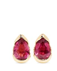 Fernando Jorge - Metallic Bloom 18-karat Rose Gold, Tourmaline And Diamond Earrings - Lyst