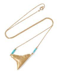 Aurelie Bidermann | Metallic Aurelie Long Necklace | Lyst