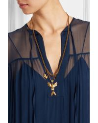 Chloé - Metallic Kraig Gold-plated Necklace - Lyst