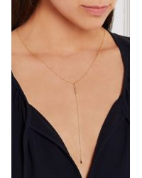 Scosha - Metallic Cari Gold-plated Diamond Necklace - Lyst