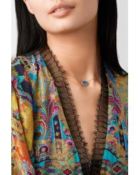 Kimberly Mcdonald - Metallic 18-karat Rose Gold Opal Necklace Rose Gold One Size - Lyst