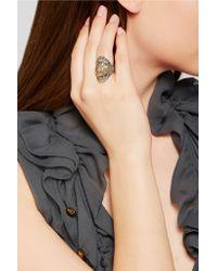 Venyx - Metallic Tortuga 9-karat Gold Diamond Ring - Lyst